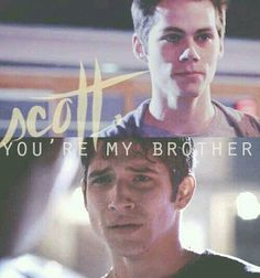 Teen Wolf - Stiles And Scott me and my best friends and twin brother are just like Scott and stiles:) I cried during this scene Teen Wolf Dylan, Teen Wolf Stiles, Teen Wolf Cast, Dylan O'brien, Best Series, Best Tv Shows, Best Shows Ever, Favorite Tv Shows, Tv Series