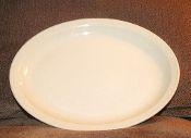 Syracuse China Restaurant Adobe Econo Rim Large Oval Platter