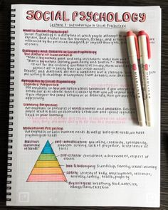 Pin by ivana fierovich on perfect handwriting Bullet Journal Notes, Bullet Journal Lettering Ideas, Bullet Journal School, Psychology Notes, Psychology Studies, College Notes, School Notes, School School, Life Hacks For School