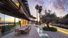 Mallorca's $76M Villa Solitaire Has Its Own Underground Nightclub – Robb Report Underground Club, Expensive Houses, Most Expensive, Glass Elevator, Majorca, Rooftop, Cinema, Real Estate, Mansions