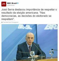 Esquerda Caviar: Ministro José Serra diz que houve golpe e Brasil v...