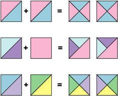 Quarter Square Triangle Variations