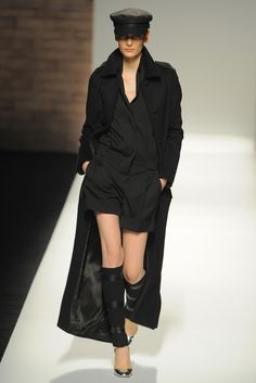 Someone please buy this for me. Would rock this.  Max Mara RTW Fall 2012 - Milan. (Photo: Davide Maestri)