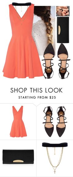 """""""Untitled #4716"""" by hannahmcpherson12 ❤ liked on Polyvore featuring Opening Ceremony, H&M, Henri Bendel and Vanessa Mooney"""