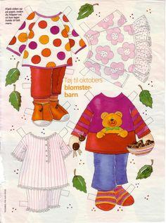 Sooo many paper dolls!!!  : ) Bonecas de Papel: Meninas Floridas