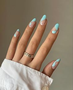 Simple Acrylic Nails, Best Acrylic Nails, Acrylic Nails Designs Short, Easy Nail Designs, Nail Designs Bling, Short Nail Designs, Swag Nails, My Nails, Hair And Nails