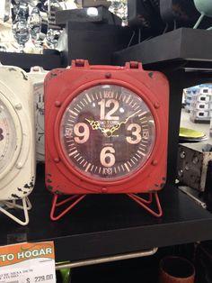 Reloj estilo industrial