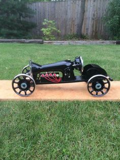 Sewing machine hot rod !! From Primer & Rust, Hot & Rods on Facebook.