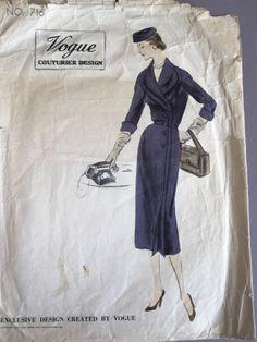 Vogue Couturier 716, ca 1952