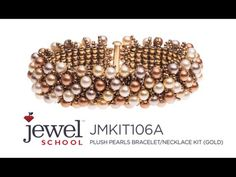How to Make Plush Pearls Bracelets with Jill Wiseman - YouTube