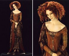 I can relate to this character. I may be double the size and my hair half the size, but I love wearing clothes like that and my hair for sure is red and curly. Want to be Autumn by Alexandra Kokinova in my next life ;-)