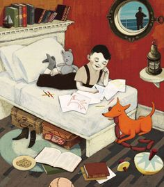 children's book illustrator isabelle arsenault
