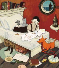 Heartwarming! By children's book illustrator Isabelle Arsenault