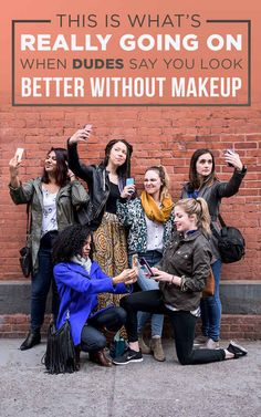 """We Tried Natural Makeup Looks To Show Men What """"No Makeup"""" Looks Like"""