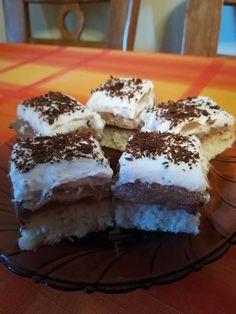 Csokoládékrémes kókuszos finomság, egy isteni krémmel! - Egyszerű Gyors Receptek Tiramisu, Food And Drink, Ethnic Recipes, Ale, Snacks, Appetizers, Ales, Tiramisu Cake, Treats