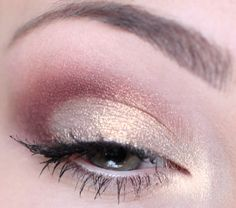 Gold & Cranberry look.
