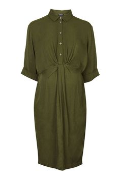 MATERNITY Knot Front Dress - Dresses - Clothing - Topshop