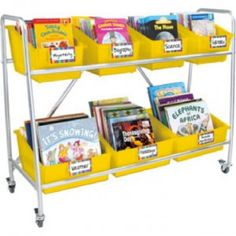 How about a mobile classroom library?