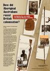 How Aboriginal Australians resisted British Colonisation - front cover of work unit