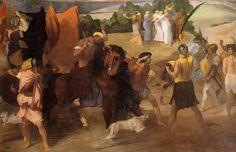 Young Spartans Exercising - Edgar Degas - WikiArt.org