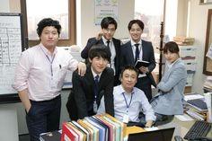 Misaeng: The cast. Kim Dae Myung, Im Siwan, Kang Ha Neul, Byun Yo Han, Kang So Ra and Lee Sung Min