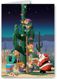 arizona christmas cards | Southwest Christmas / Holiday ...