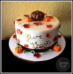Thanksgiving cake! Devon Keating!!!?????