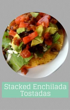 Camila Alves, wife of Matthew McConaughey, shared with The Chew co-hosts her recipe for Stacked Enchilada Tostadas which are not only delicious but easy to make.