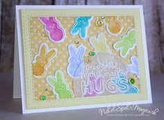 I just can't get enough of this peeps set! Order it now by clicking the link below: https://www.simonsaysstamp.com/product.aspx?id=343636