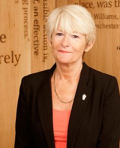 Professor Dame Nancy Rothwell - first female vice chancellor of the University of Manchester