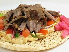 Arabic Food (shawarma)