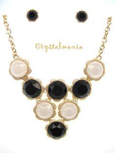 Set de collar, bisuteria, joyeria de fantasia, www.crystalmania.com.