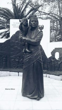 #greece #statue #attraction #blackandwhite #white #blue #thessaloniki