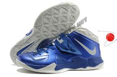 Nike Zoom Soldier VII 599263-400 Game Royal/Metallic Silver-Blue Hero-White Holiday Promotions