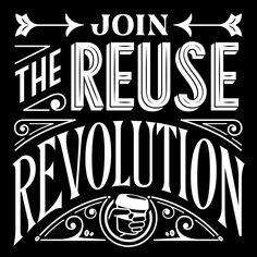 Jessica Hische - Salute the Reuser
