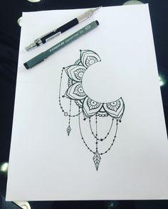 Tattoo sleeve ideas drawings inspiration dream catchers Ideas for 2019 – Tattoo Sketches & Tattoo Drawings Bff Tattoos, Future Tattoos, Print Tattoos, Small Tattoos, Cool Art Drawings, Pencil Art Drawings, Tattoo Drawings, Dotwork Tattoo Mandala, Tattoo Abstract
