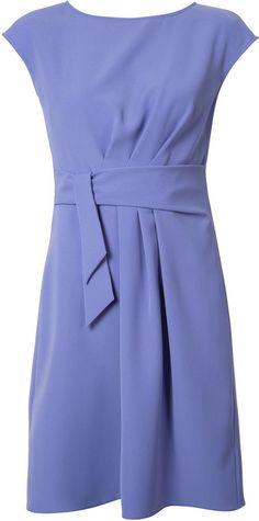 Armani Collezioni belted draped dress   http://shopstyle.it/l/bNml