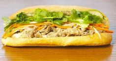 Saigon sandwhich pork Banh mi  America's Best Sandwiches