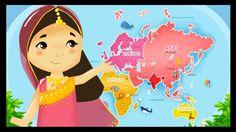 http://www.mondedestitounis.fr/ Voici une petite vidéo pour apprendre à vos enfants de nombreux de pays ainsi que leurs drapeaux. Dans ce petit dessin animé,...