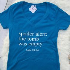 The Tomb was Empty Christian Shirt for Women – ellyandgrace