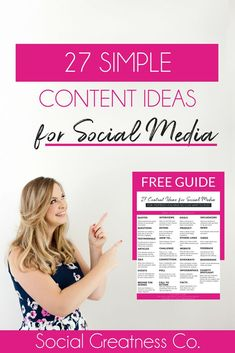 Social Media Marketing Tips for Small Business Owners and Busy Entrepreneurs | Free Download #captionideas #SocialMedia #ContentIdeas