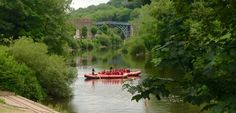 Ironbridge canoe, kayak and raft hire on the Severn river Boat Hire, Float Trip, Canoe And Kayak, Industrial Revolution, Group Activities, Rafting, Kayaking, Anniversary, Tours