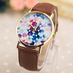 [XmasSale]Women's Fashion Pu Rose Gold Box Quartz Watches(Assorted Colors) – EUR € 9.59