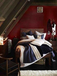 bedroom styling by Glen Proebstel for West Elm