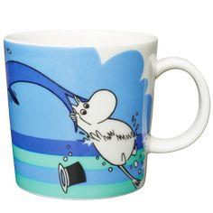 Delfiinisukellus 2007 Tove Jansson, Moomin Mugs, Marimekko, Troll, Snoopy, Mumi, Tableware, Materialistic, Character