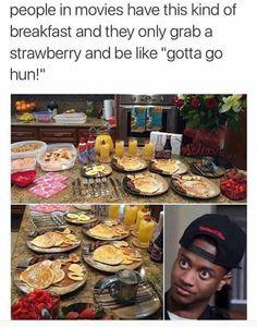 So true I b like wtf u GNA let all that food go 2 waste...bit in my watchv