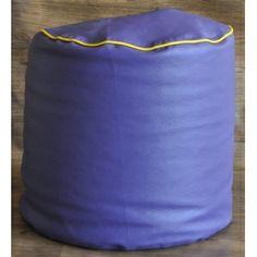 Large Round Ottoman Pouffe : Purple