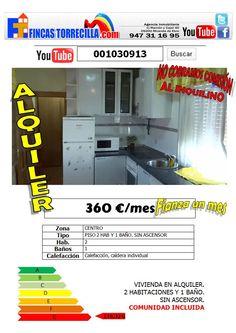 001030913 360€/mes 2 hab 1 baño centro Miranda http://www.youtube.com/watch?v=NzLGRTlHE4o