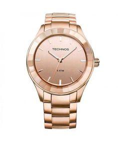 Relógio Technos Feminino Elegance Crystal 2035LNH/4T
