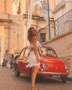 Fiat500nelmondo (@fiat500nelmondo) • Foto e video di Instagram Fiat 500, White Dress, Vintage, Video, Instagram, Dresses, Women, Fashion, Beauty And The Beast